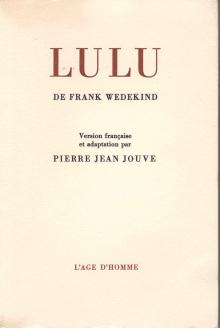 frank wedekinds lulu an analysis Lulu, based on frank wedekind's earth-spirit and pandora's box, was even less  conventional the earlier work, like pellias et milisande before it, was regarded.